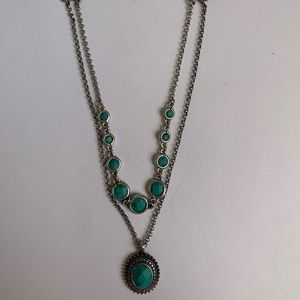 Jewelry - Turquoise Beaded Layer Necklace